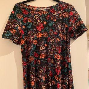 Legging Material Roses Carly Dress